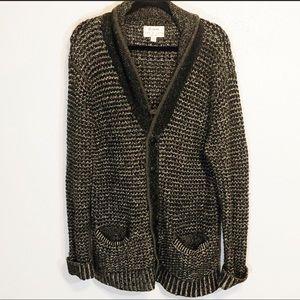 Rag and Bone/Target collab cotton/wool cardigan